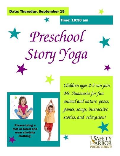 Preschool Story Yoga