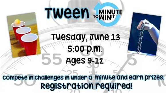 Tween Minute to Win It