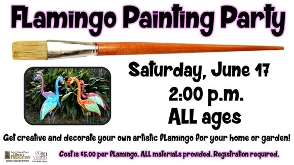 Flamingo Painting Party
