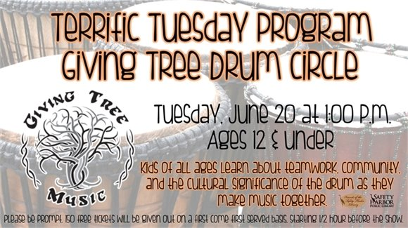 Terrific Tuesday: Giving Tree Drum Circle
