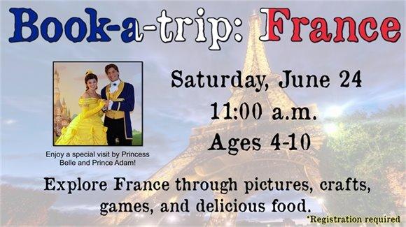 Book-a-Trip: France