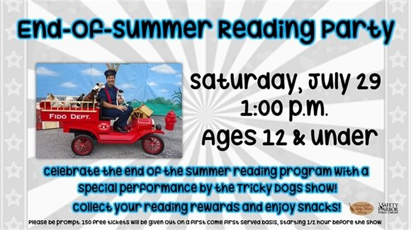 End-of-Summer Reading Party