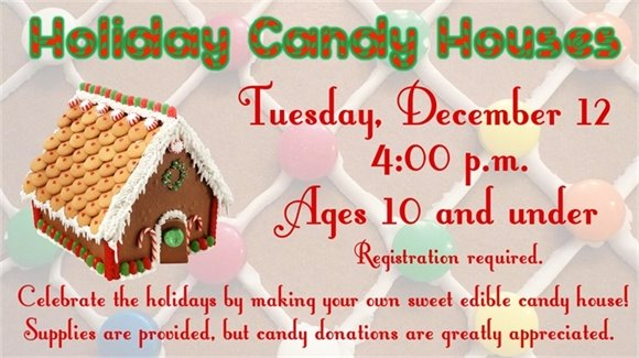 Holiday Candy Houses