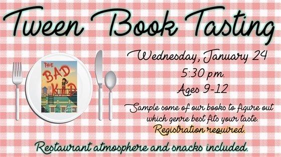 Tween Book Tasting