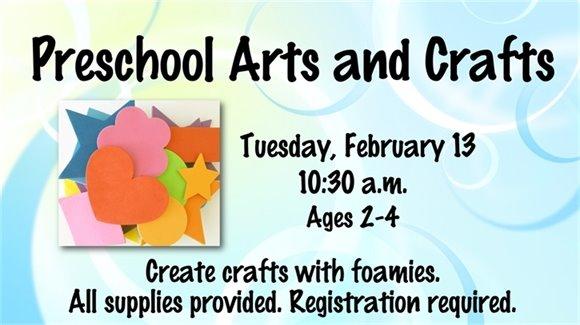Preschool Arts & Crafts