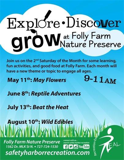 Explore, Discover, Grow!