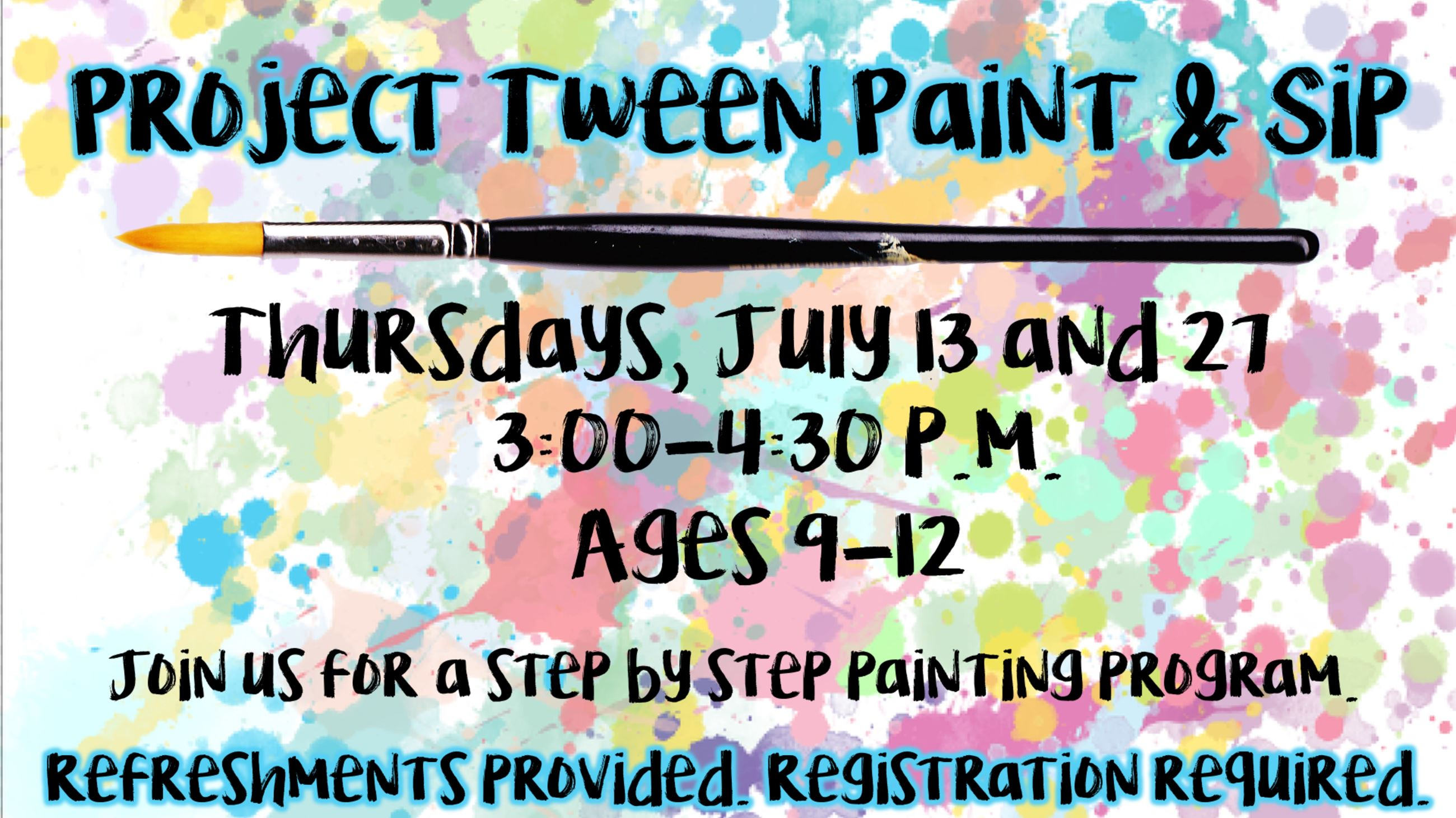 Tween Paint and Sip