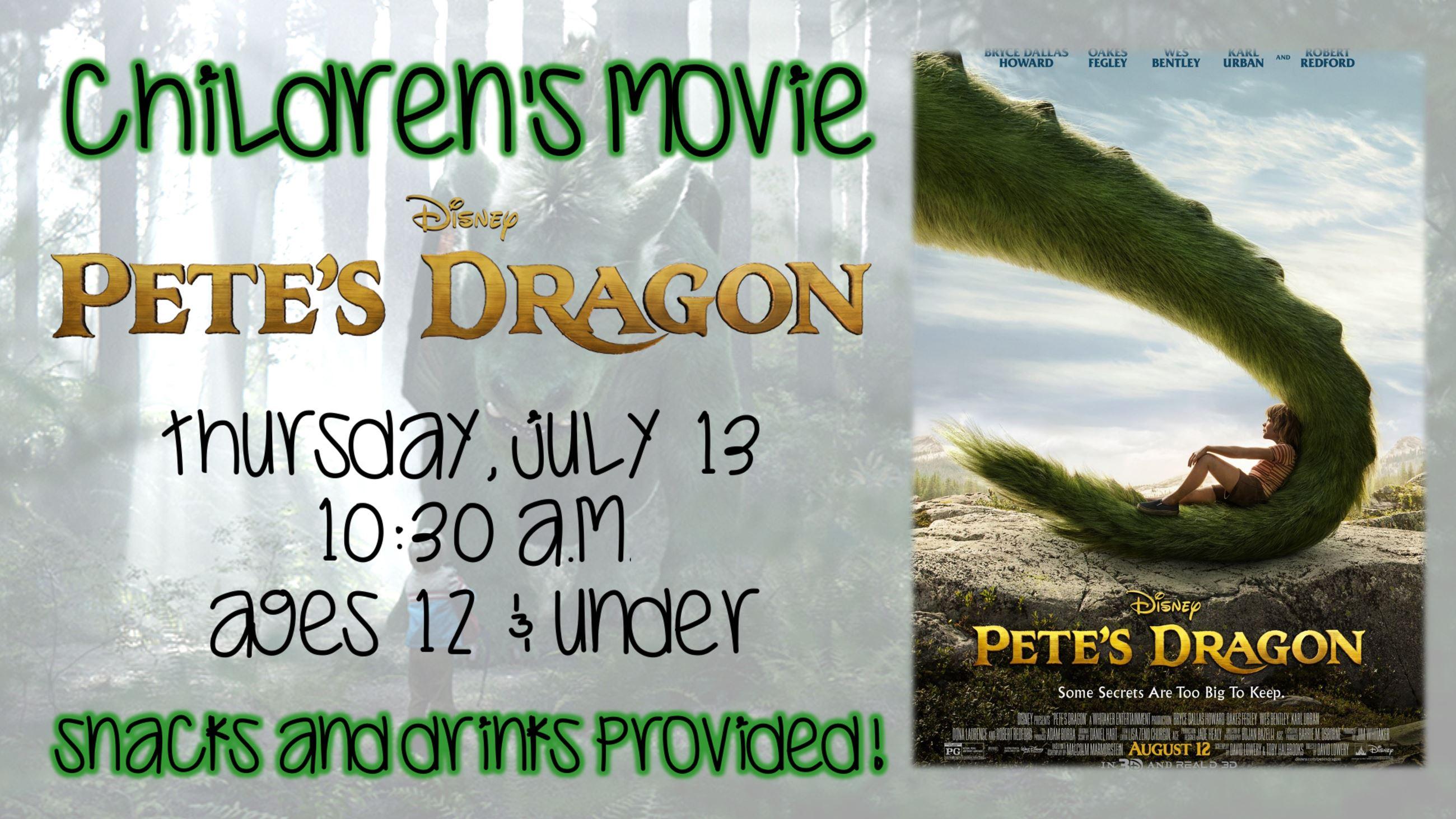 Childrens Movie Petes Dragon