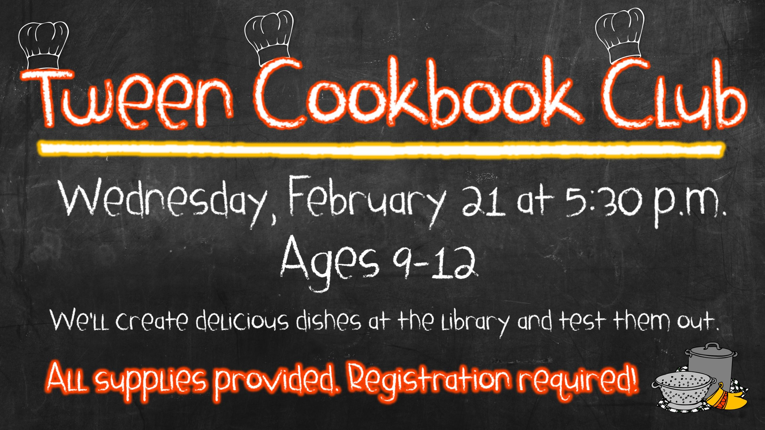 FebTween Cookbook Club