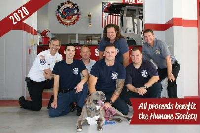 Safety Harbor Firefighter Calendar benefiting the Humane Society