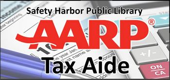 AARP Tax-Aide at the Safety Harbor Public Library