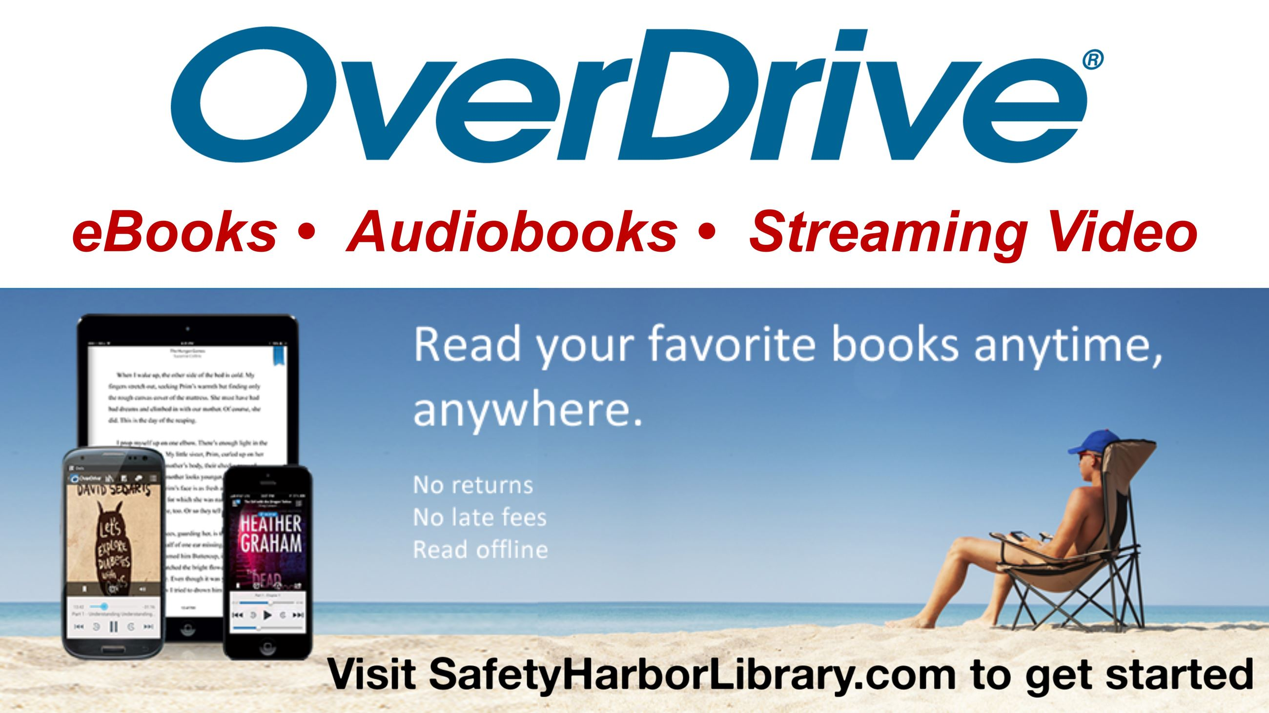 Overdrive - eBooks, Audiobooks, Streaming Video