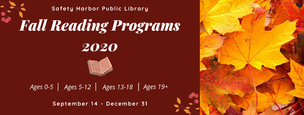 Fall Reading Programs 2020