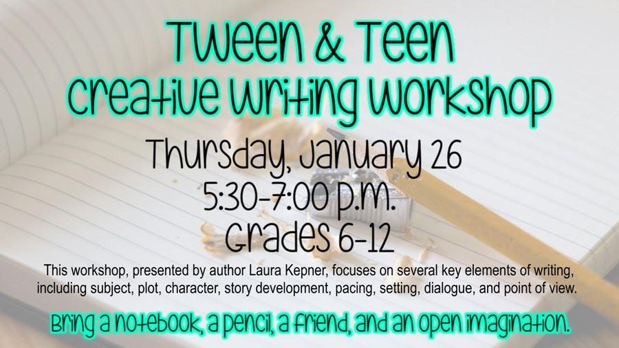 Tween and Teen Creative Writing