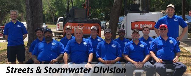 Public Works Streets-Stormwater Division Staff