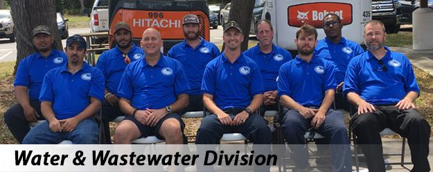 Public Works Water-Wastewater Division Staff