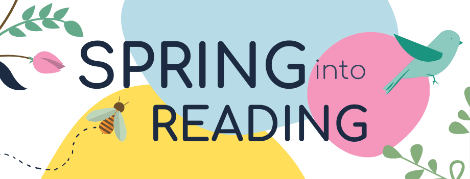 Spring Into Reading Banner