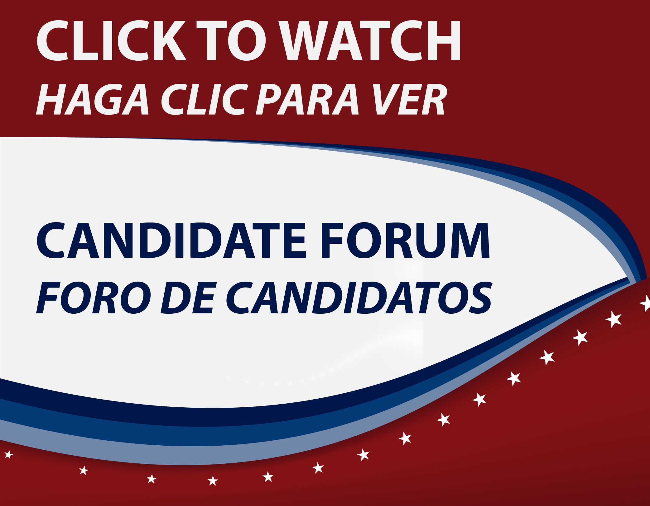 Watch Candidate Forum Recording 2021